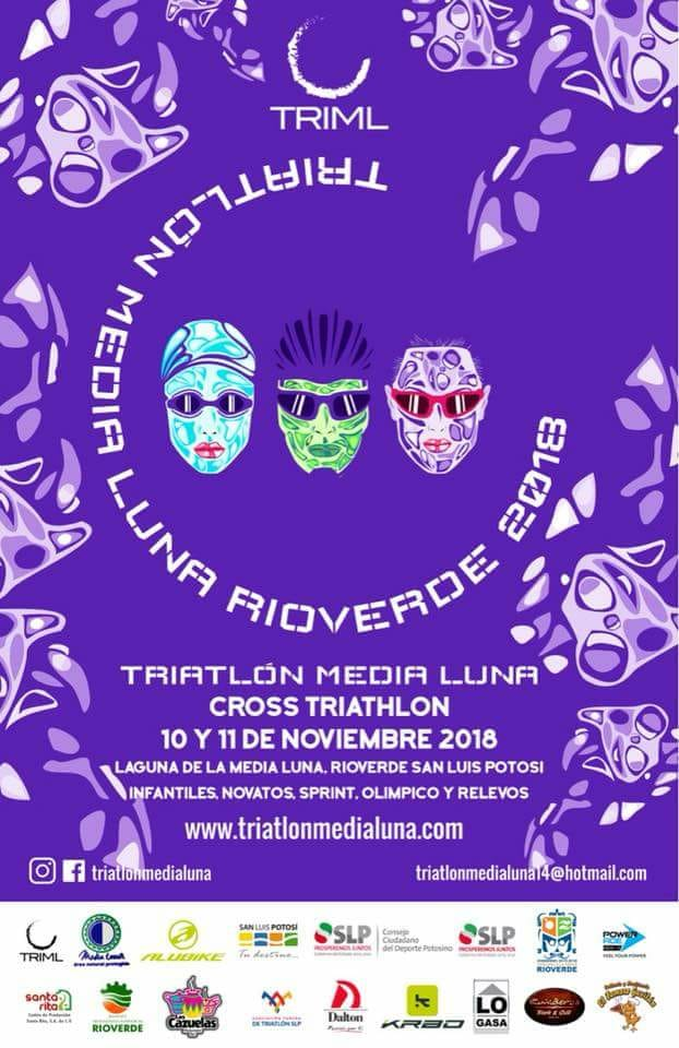 Triatlon Media luna Rio verde SLP