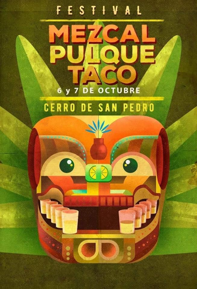 Festival del Mezcal, pulque y taco Cerro de San Pedro