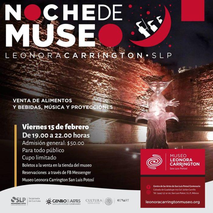 Noche del Museo Leonora Carrington