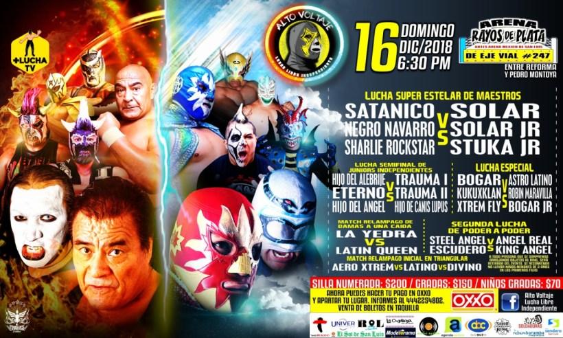 16 Diciembre Luchas Arena SLP