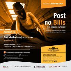 Polivalente post no bills