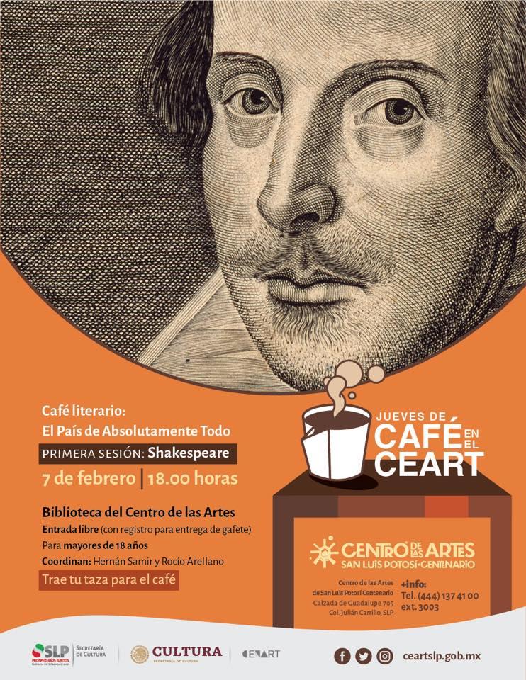 cafe literario CEART