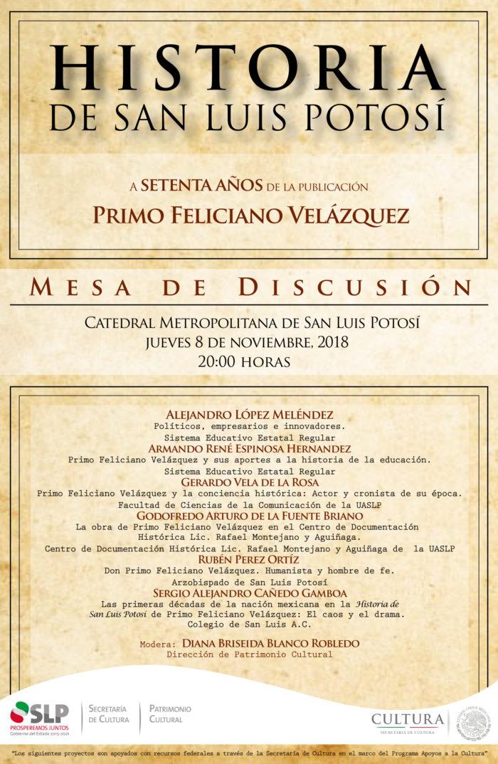 Mesa Discusión SLP