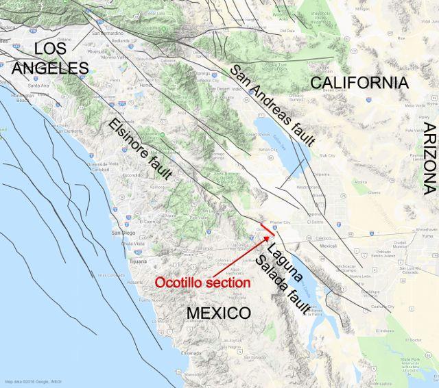 fallas sísmicas