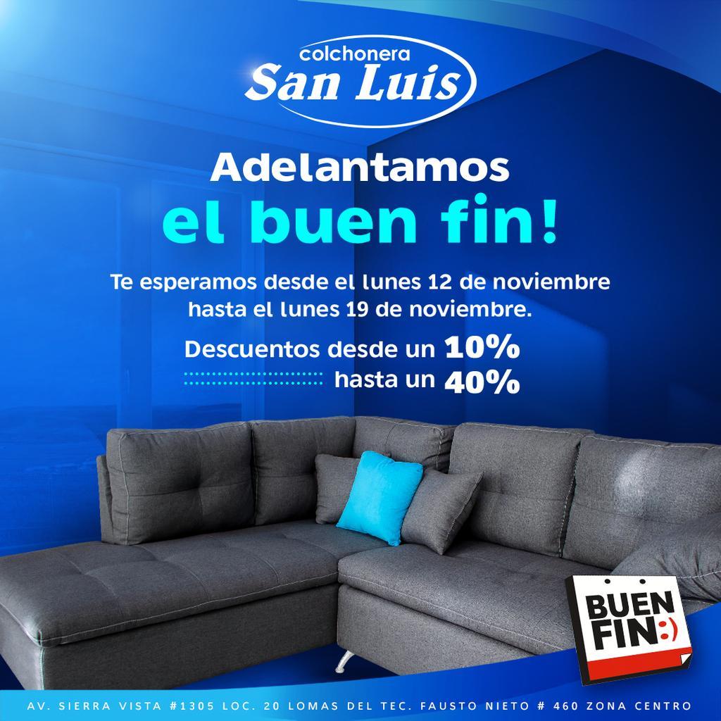 Buen Fin Colchonera San Luis