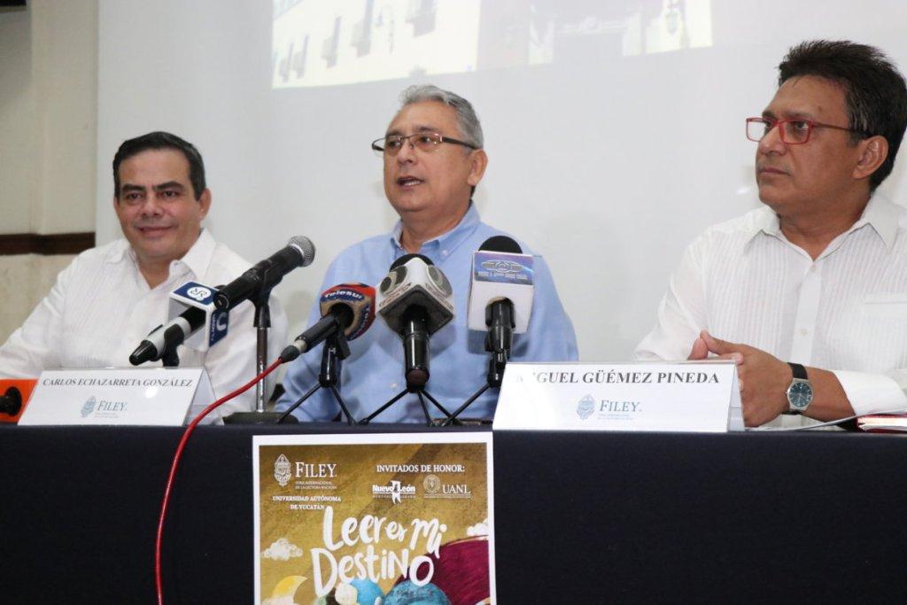 Del 16 al 24 de marzo se realizará la Feria Internacional de la Lectura en Yucatán