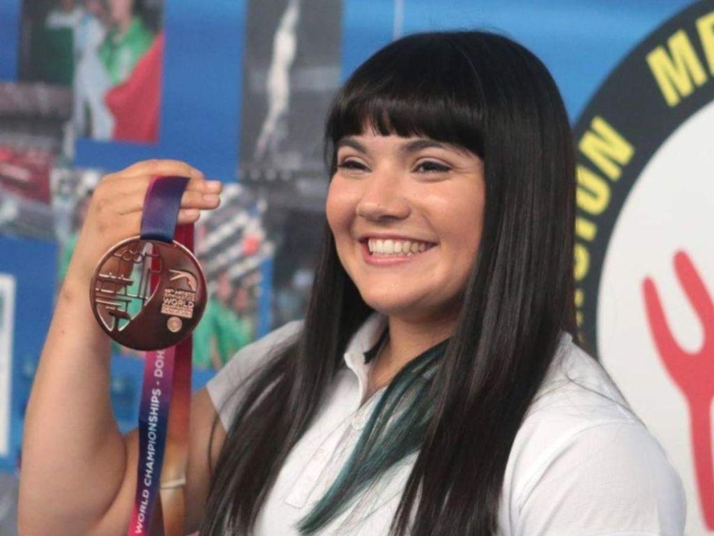 Alexa Moreno orgullo mexicano ¡Gana Bronce en Copa del Mundo de Gimnasia!