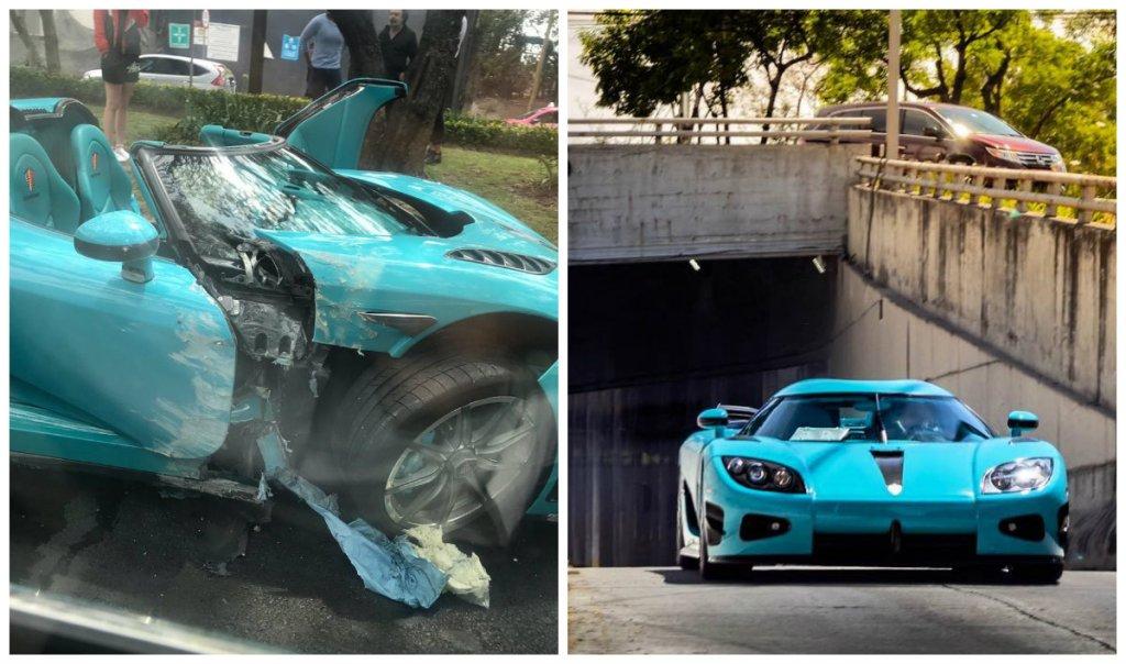 Lo saca a pasear y lo destruye: Koenigsegg CCXR Special One ¡Pérdida total!