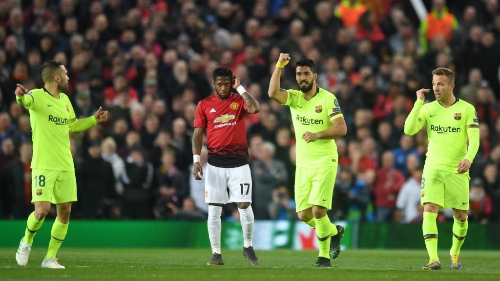 ¡El Barcelona quiere Champions! Derrota 1-0 al Manchester United en su casa