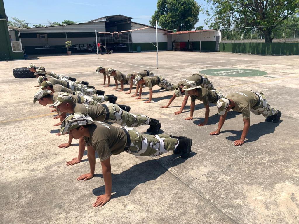 El deporte parte importante del desarrollo de los jóvenes en las Academias Militarizadas