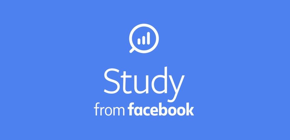 Facebook lanza Study una aplicación para conocer tus datos a cambio de recompensas