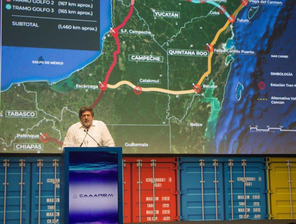 Reducen 73 kilómetros extensión del Tren Maya