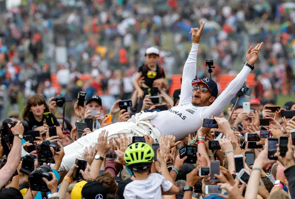 ¡En casa! Lewis Hamilton gana el GP de Gran Bretaña F1