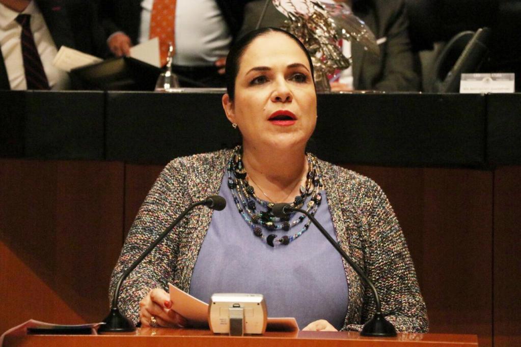 Mónica Fernández nueva presidenta del Senado, Monreal ensució el proceso denuncia Martí Batres