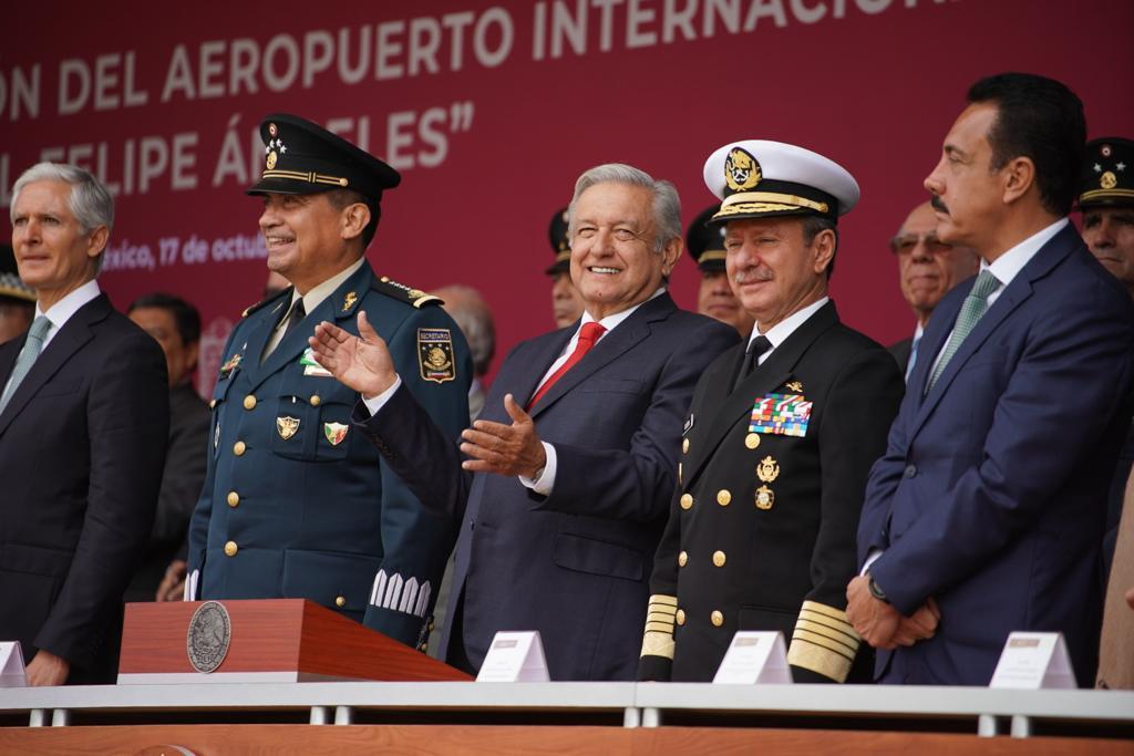 Habrá Aeropuerto en Santa Lucía en Marzo del 2022 asegura Obrador, se llamará General Felipe Ángeles