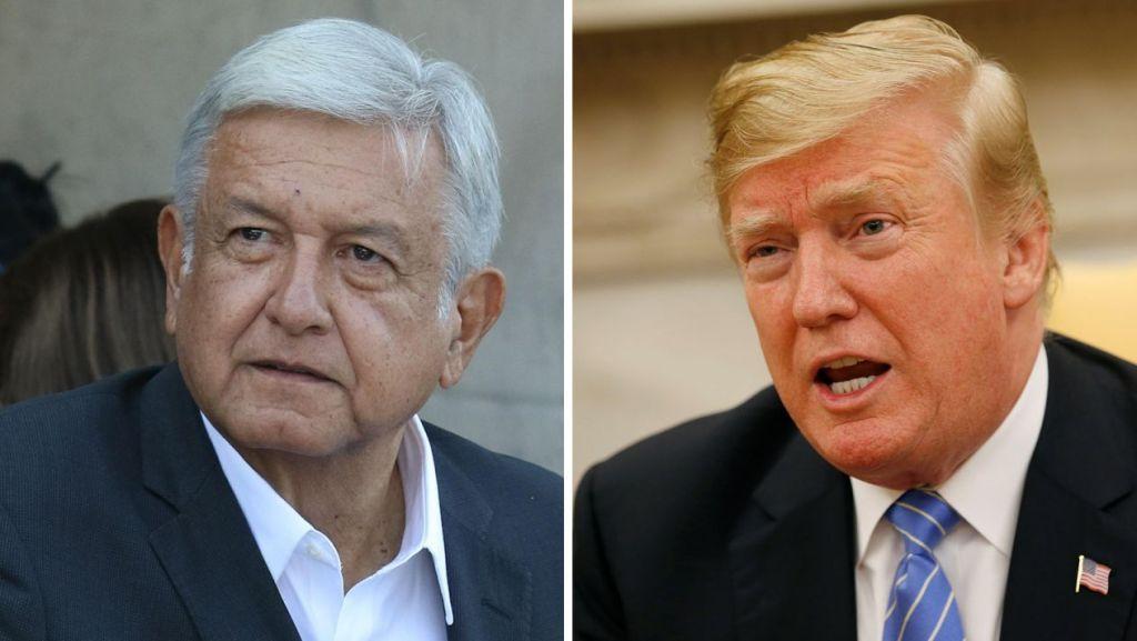 Donald Trump y López Obrador platican vía telefónica por lo ocurrido en Culiacán