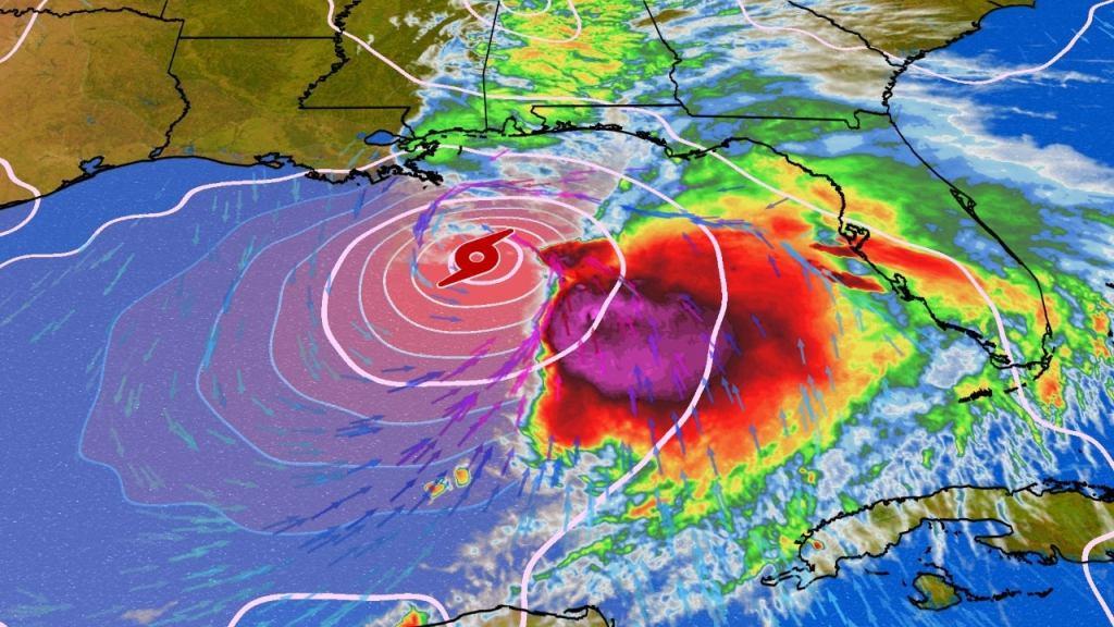 Se forma la tormenta tropical Néstor en el Golfo de México