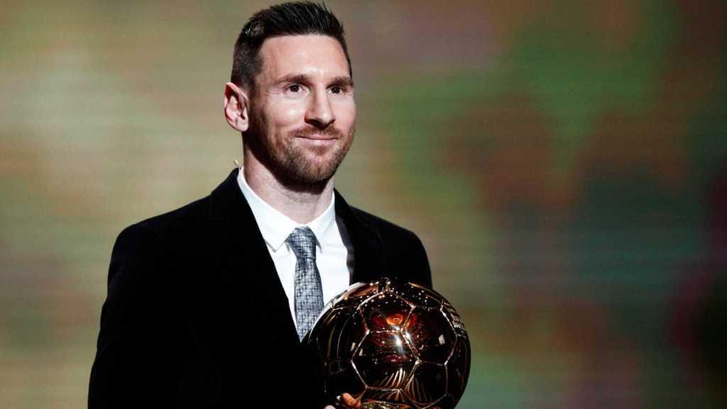 Lionel Messi ganó su sexto Balón de Oro