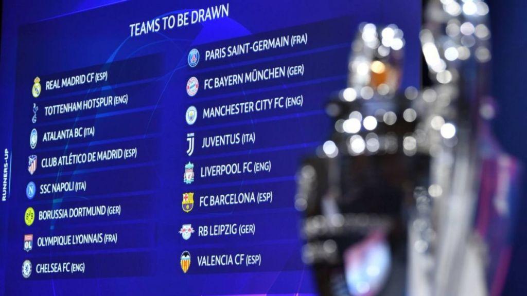 Real Madrid y Manchester City se enfrentarán en octavos de la Champions, así quedaron los partidos
