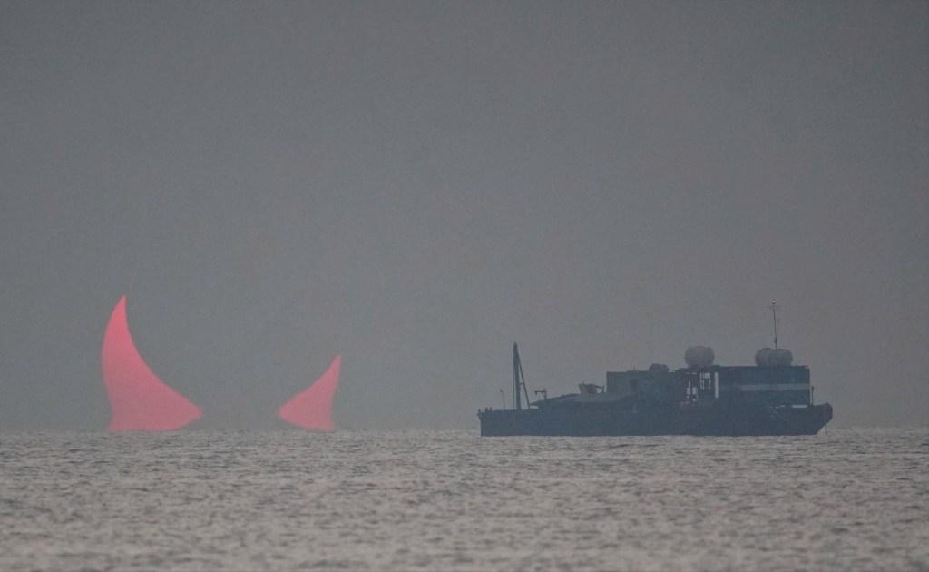 Medio Oriente: Captan amanecer que en que aparecen los 'cuernos del diablo' en Qatar