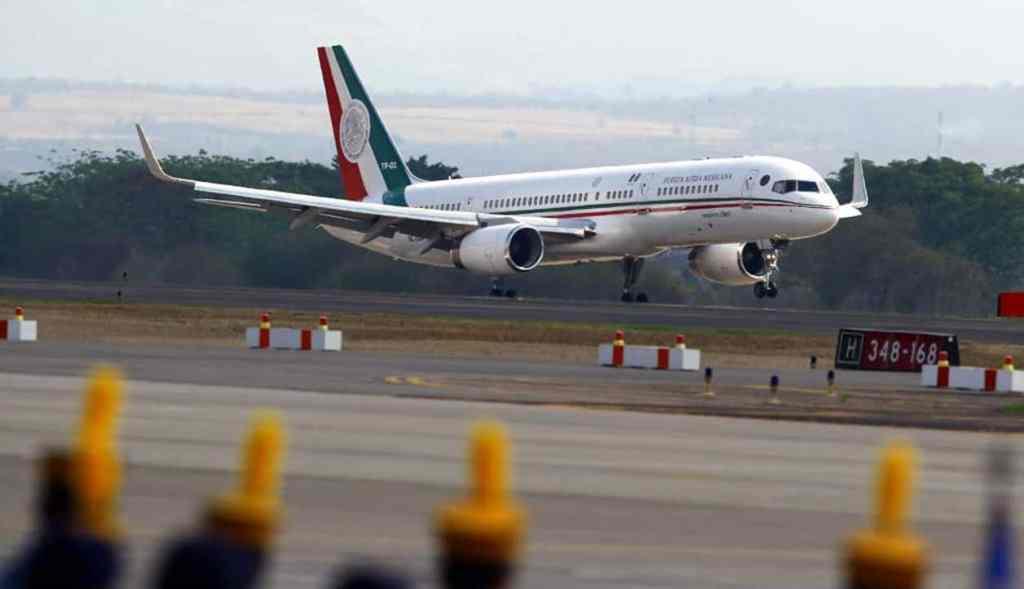 Seguimos pagando por el avión presidencial, no se ha vendido y regresa a México