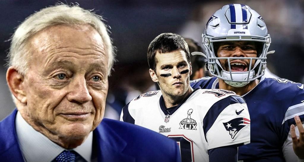 Los Dallas Cowboys quieren contratar a Tom Brady, le meten presión a Dak Prescott