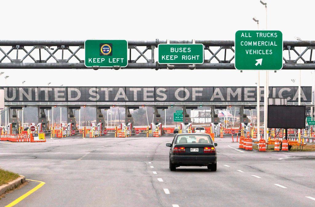 Cierra Estados Unidos su frontera con Canadá ante la contingencia por el Coronavirus