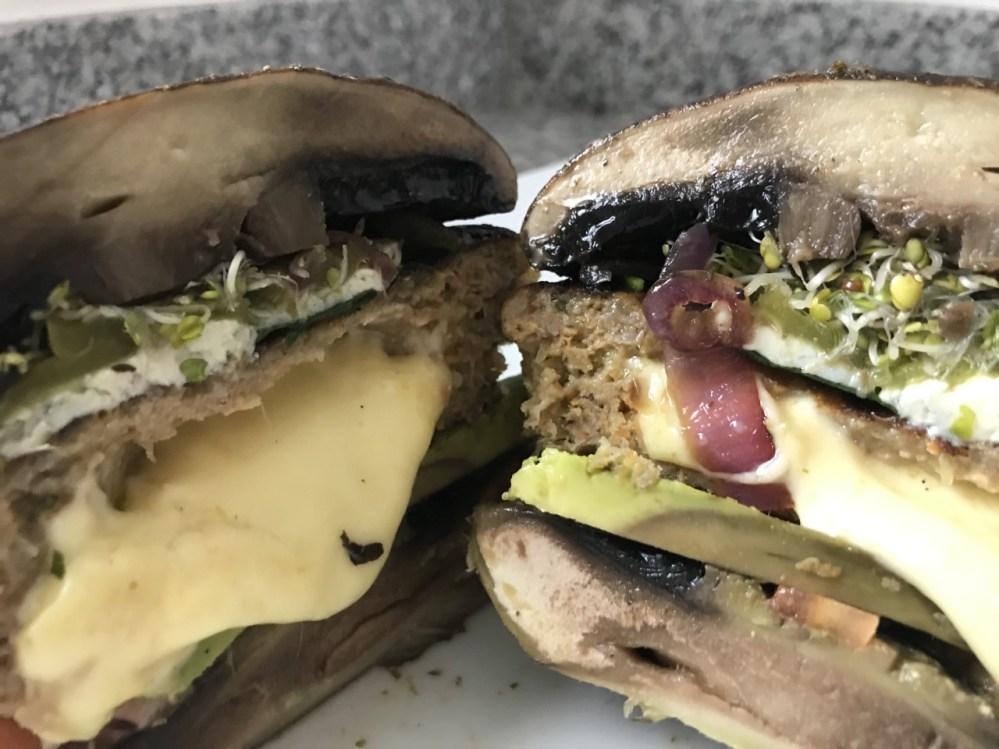 Gastronómads: Hamburguesa Portobello del chef Manu Escobar