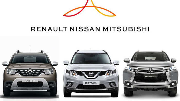 ¡Unen fuerzas! Renault, Mitsubishi y Nissan se asocian para sobrevivir la crisis por el coronavirus