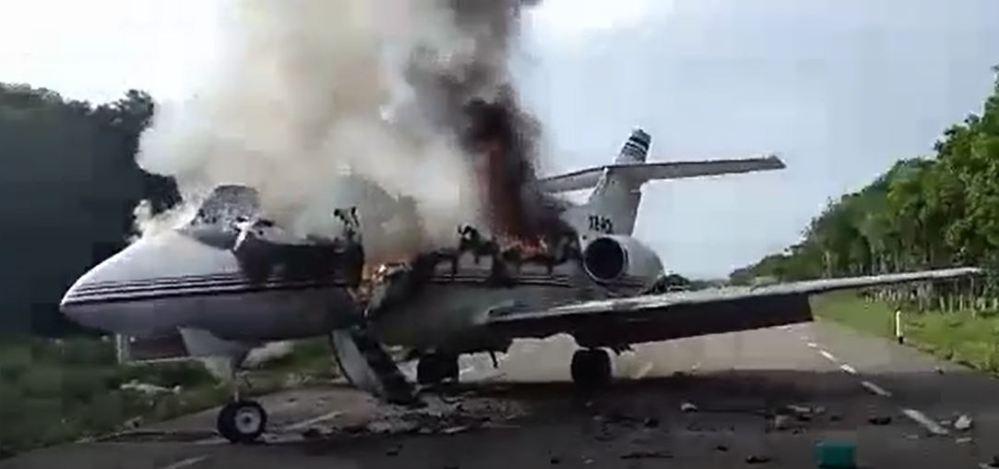 Baja Ejército narcoavión procedente de Sudámerica con 390 kg de droga VIDEO