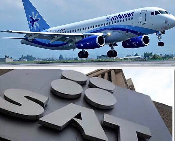 Difícil que levante el vuelo Interjet, embargan sus cuentas bancarias y marcas