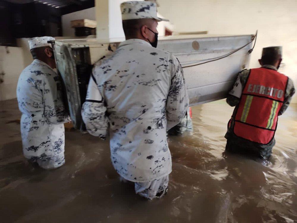 Protección Civil Tabasco emite alertamiento por incremento del nivel del Río Usumacinta