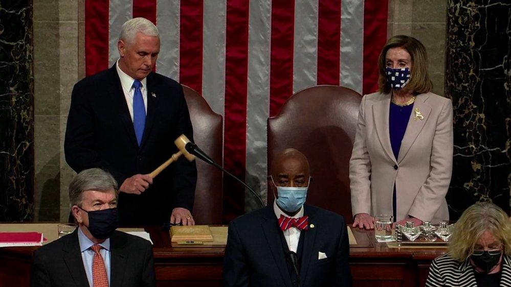 Congreso de Estados Unidos ratifica triunfo de Joe Biden en elección presidencial
