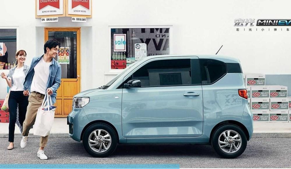 Hongguang Mini EV, el auto eléctrico que vende más unidades que el Tesla Model 3 en China