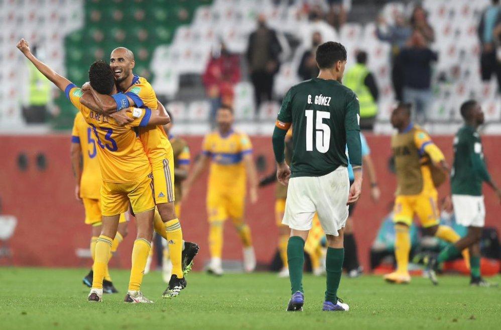 Tigres UANL derrota 1-0 a Palmeiras y jugará la final del Mundial de Clubes en Qatar