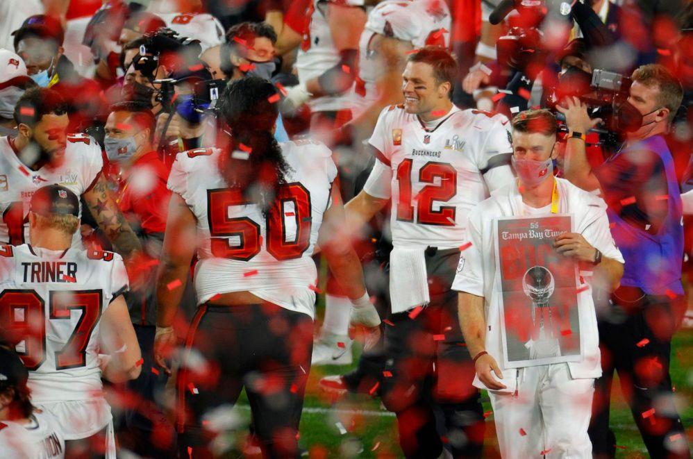 Buccaneers gana su segundo Super Bowl de la mano de Tom Brady y derrotan a Chiefs