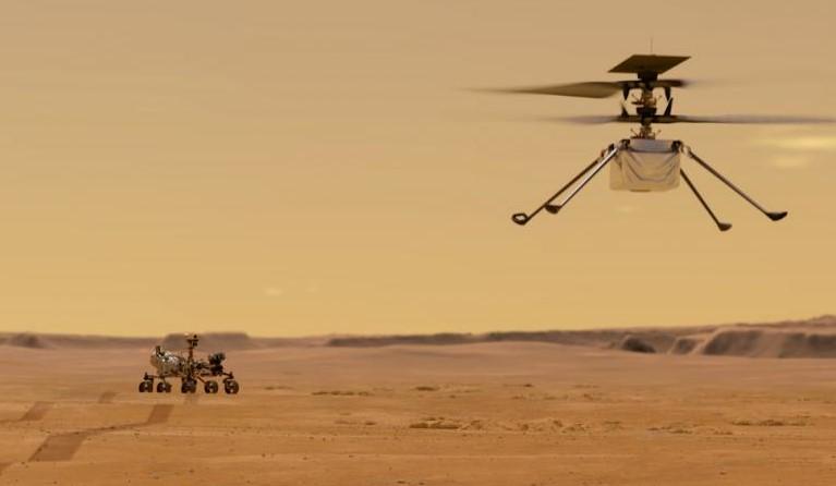 Ingenuity: el primer helicóptero que la NASA volará en Marte
