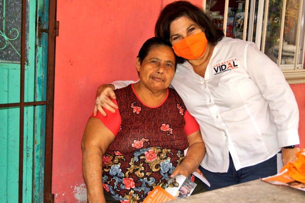 No más discursos, los ciudadanos en Centro quieren soluciones: Ana Bertha Vidal