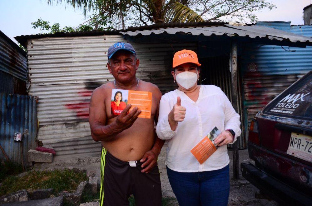 Rescatar del abandono a Centro con servicios municipales de calidad: Ana Bertha Vidal