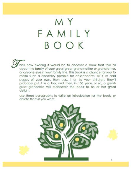 family tree template family tree template book. free tree 4 free ...