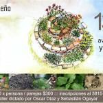 13 de Mayo – Taller de diseño de huertos espirales con hierbas medicinales