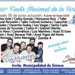 30 de Junio – 38º Edición de la Fiesta Nacional de la Feria de Simoca
