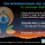 """20 de Junio – Se realizará una jornada solidaria para celebrar el """"Día Internacional del Yoga"""""""