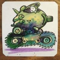 Metal Slug Cat with @LordBBH here at the @ArcadeSuperplay #savethechildren