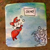 Weird Minus World Fmaicom Disk System Mario- Poemato
