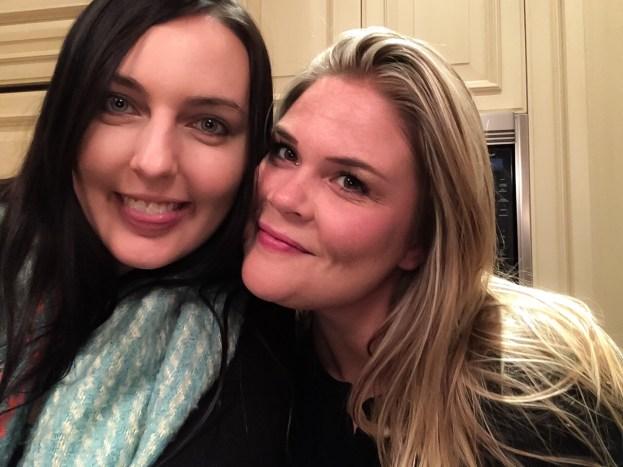 My pal Meredith & I
