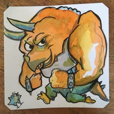 TMNT Triceraton @Macaw45