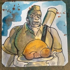 Turkey Dinner Special in Rushing Beat Shura @Macaw45