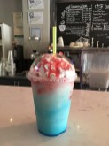 A local place had their own spin on those terrible Unicorn drinks. They called it a Mermaid. It was decent!
