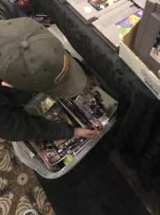 Greg found a barrel of comics